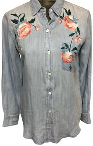 Rails Button Down Shirt vintage wash - light blue