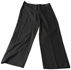 Avenue Straight Pants brown striped