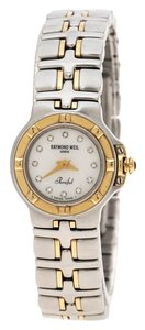 Raymond Weil White Mother of Pearl Stainless Steel Parsifal 9690/1 Wom