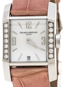 Baume & Mercier White Mother of Pearl Stainless Steel Diamant MOA08667