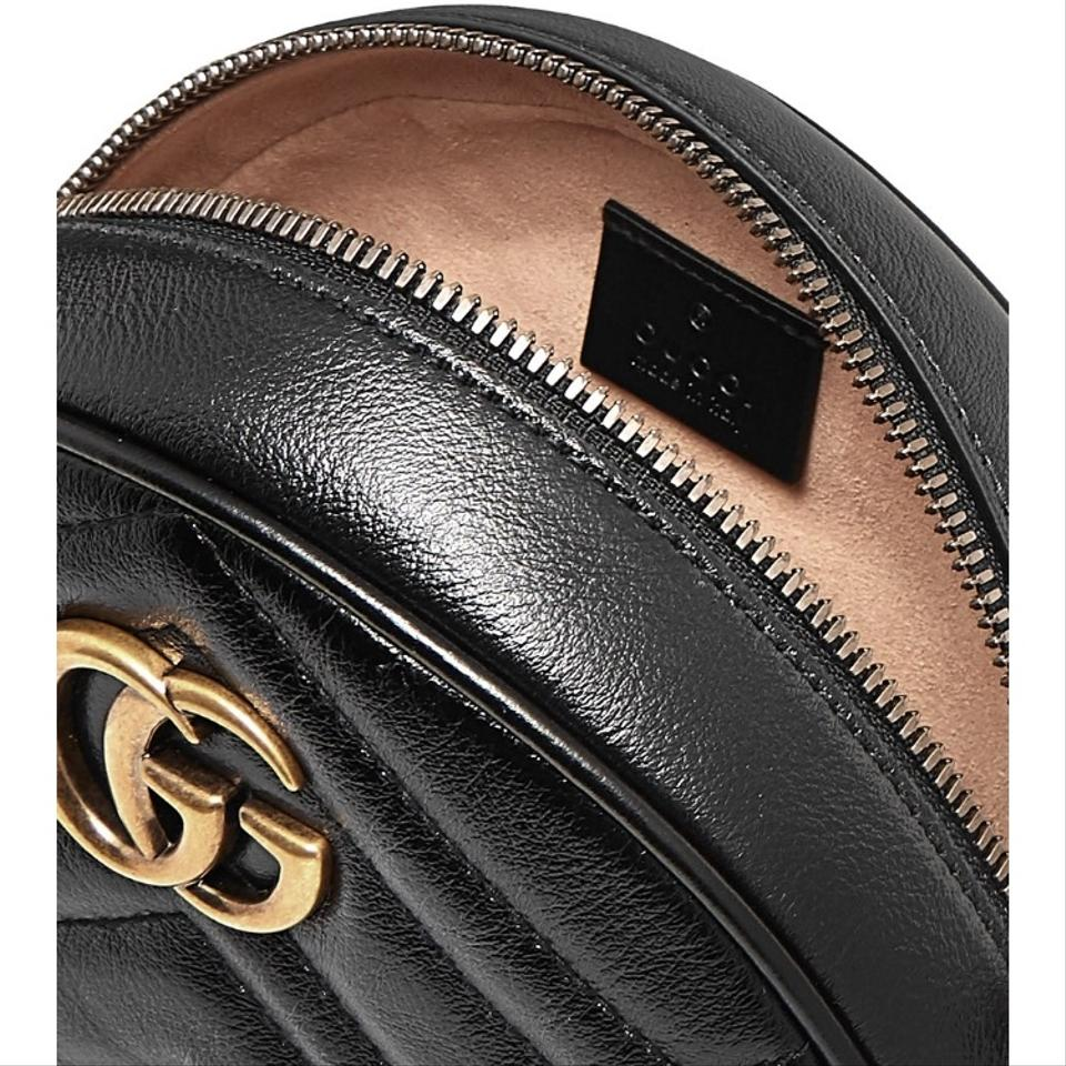 c1968f0c6f64c2 Gucci Marmont Circle Round Quilted Leather Cross Body Bag - Tradesy