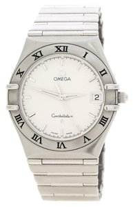 Omega Silver White Stainless Steel Constellation 1532 Women's Wristwatch