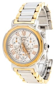 Balmain White Stainless Steel And Rose Gold Plated Steel Madrigal Chrono Lady