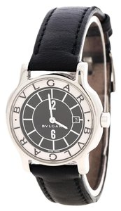 BVLGARI Black Solotempo Stainless Steel ST29 Women's Watch 29MM