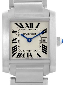 Cartier Cartier Tank Francaise Midsize Steel Womens Watch W51011Q3