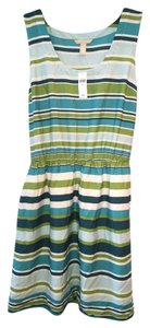 Banana Republic short dress Multi Color Elastic Waist Sleeveless on Tradesy