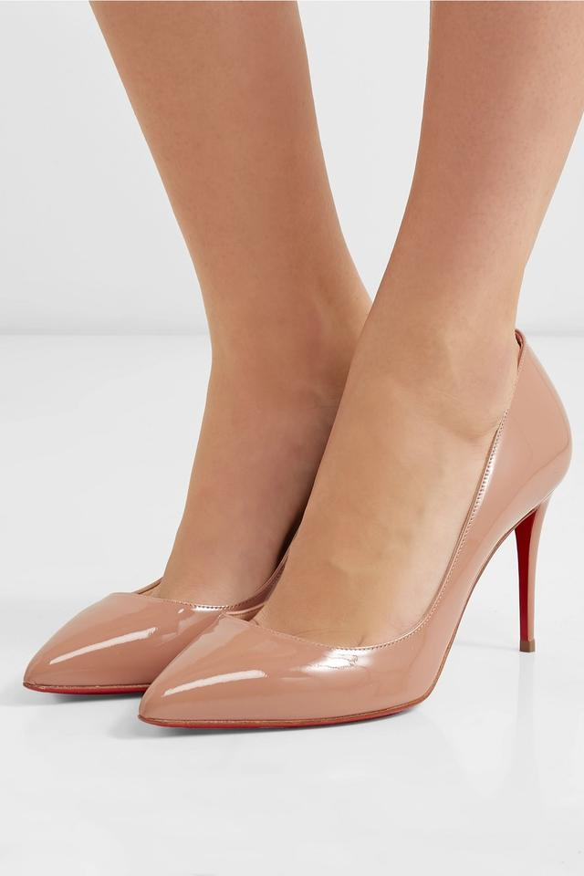 finest selection a6556 266f6 Christian Louboutin Nude Patent - Pigalle Leather 85mm Pumps Size EU 35.5  (Approx. US 5.5) Regular (M, B)