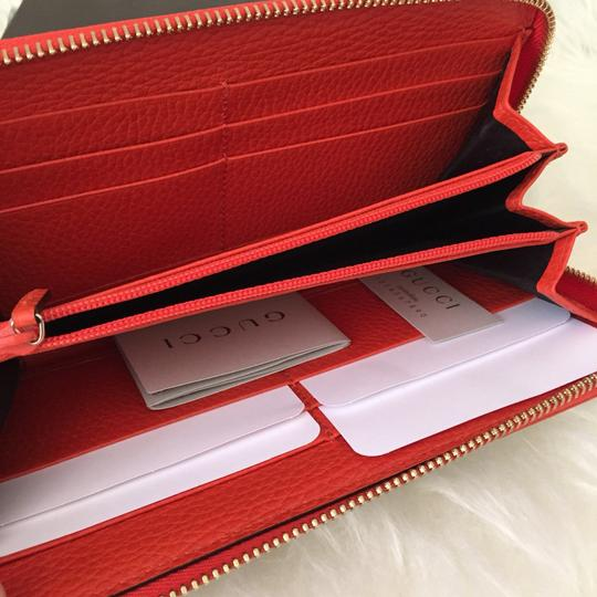 Gucci canvas leather wallet with zip Image 4