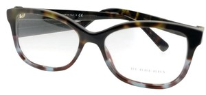 Burberry BE2252-3636-52 Square Women's Tortoise Frame Clear Lens Eyeglasses