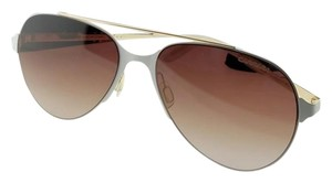 Carrera 113S-029Q-57 Aviator Unisex Gold Frame Brown Lens Genuine Sunglasses