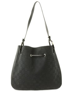12576dcb47bd Added to Shopping Bag. Gucci Shoulder Bag. Gucci Small Gg Black Canvas ...