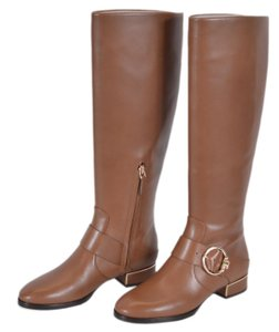 Tory Burch Riding Leather Knee High Festival Brown Boots