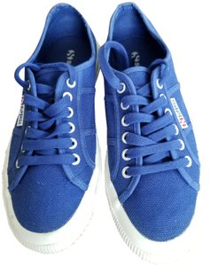 Superga Sneakers Casual Canvas Sporty Blue Athletic