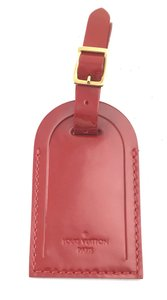 Louis Vuitton Patent leather Luggage Tag keepall alma speedy
