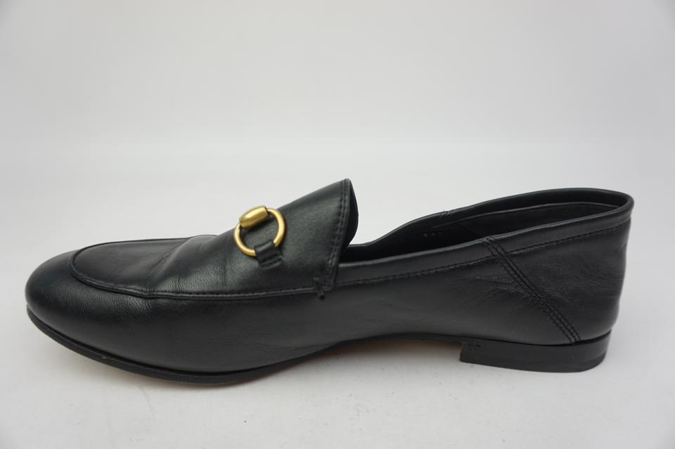 82eb03cd421 Gucci Black Women s Brixton Convertible Leather Loafers Flats. Size  EU 37  (Approx. US 7) ...