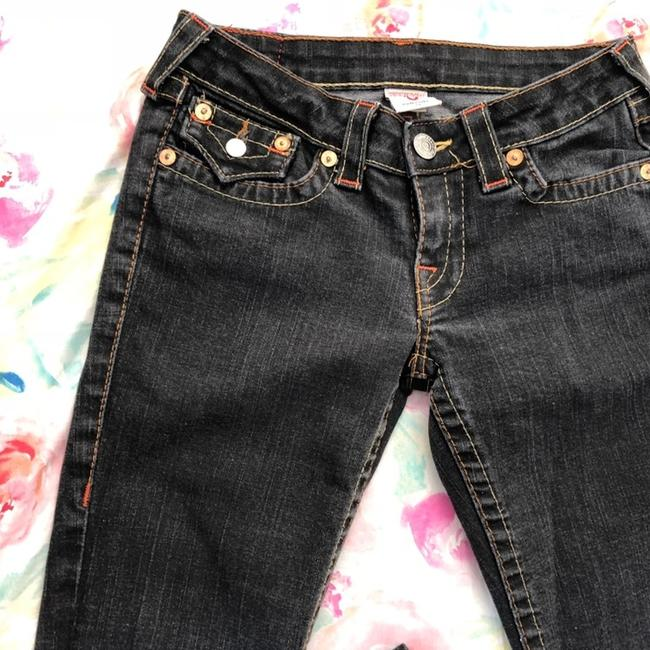 True Religion Straight Leg Jeans-Dark Rinse Image 3