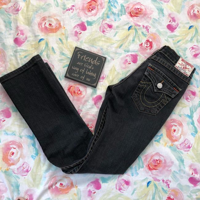 True Religion Straight Leg Jeans-Dark Rinse Image 8