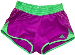adidas Green/Purple Shorts