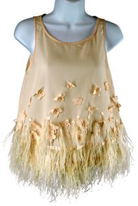Moulinette Soeurs Feather Top Nude