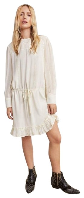Preload https://img-static.tradesy.com/item/24424981/anine-bing-cream-bella-mid-length-short-casual-dress-size-12-l-0-4-650-650.jpg
