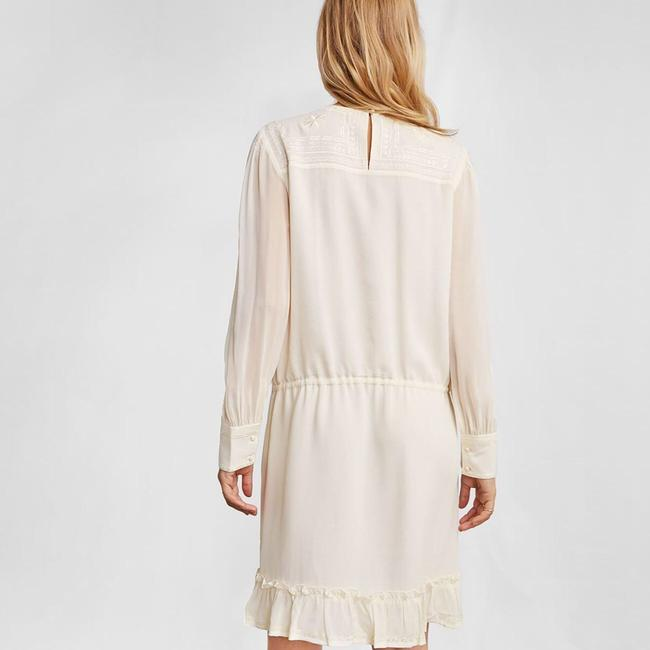 ANINE BING short dress cream on Tradesy