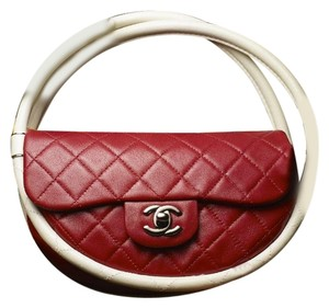 Chanel Hula Hoop Hula Flap Rare Limited Edition Hobo Bag