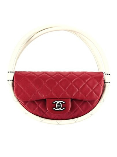 Chanel Hula Hoop Hula Flap Rare Limited Edition Hobo Bag Image 3
