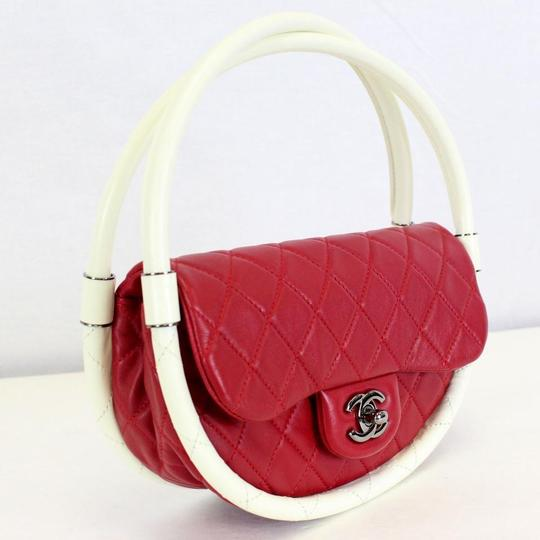 Chanel Hula Hoop Hula Flap Rare Limited Edition Hobo Bag Image 4