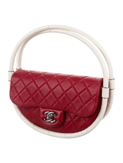 Chanel Hula Hoop Hula Flap Rare Limited Edition Hobo Bag Image 5