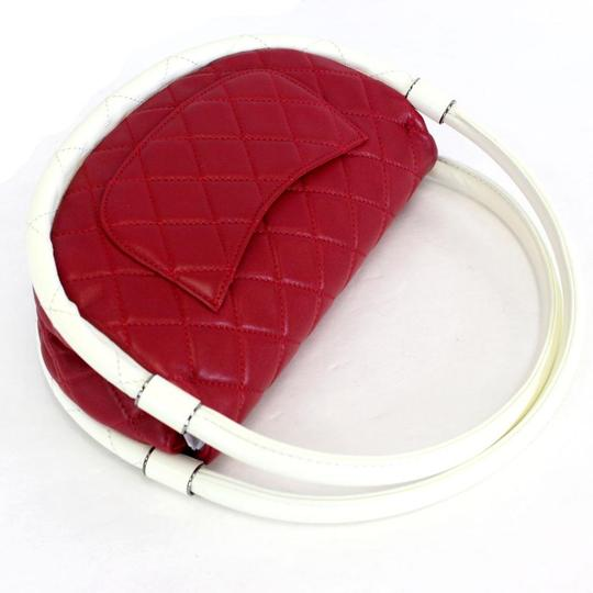 Chanel Hula Hoop Hula Flap Rare Limited Edition Hobo Bag Image 6