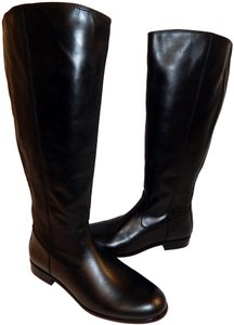 Kenneth Cole Fashion Leather Black Boots