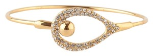 Alexis Bittar Gold New Miss Havisham Bangle bracelet