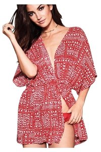 Victoria's Secret Victoria Secret cover up / robe with red hearts