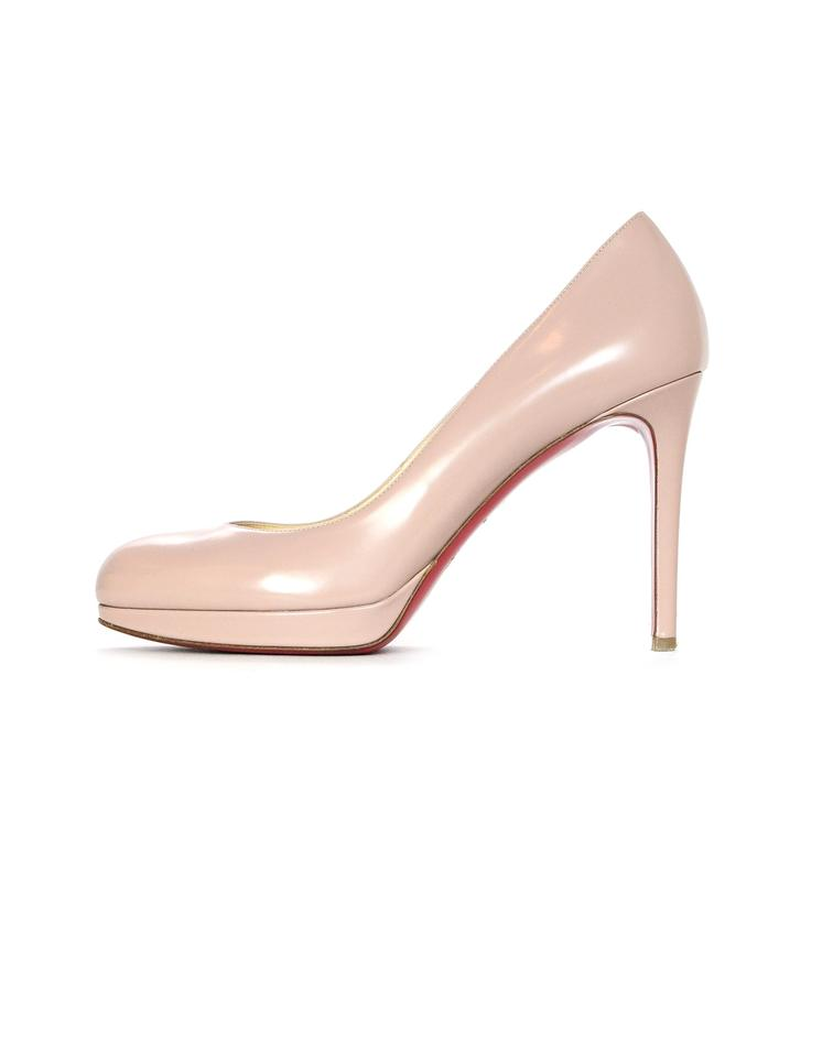 bdeb4fe821f Christian Louboutin Beige Nude New Simple Leather Pumps. Size  EU 38 ...