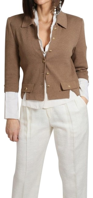 Item - Beige Collection Button Down Jacket Size 2 (XS)