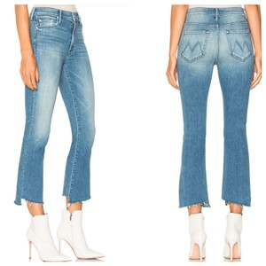 Mother Capri/Cropped Denim-Light Wash