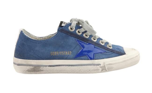 Item - Blue V-star Suede Sneakers Size EU 35 (Approx. US 5) Narrow (Aa, N)
