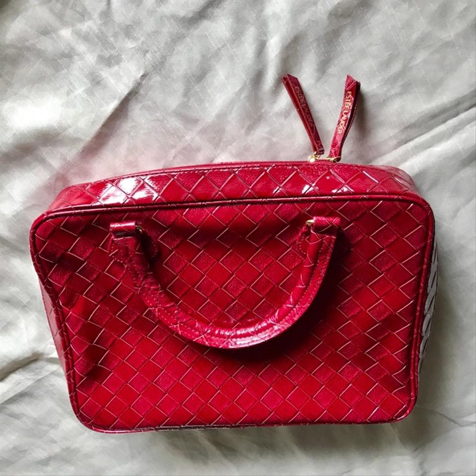 6e23f312ef35 Estée Lauder Cherry Red Make Up Or Laptop Cosmetic Bag - Tradesy