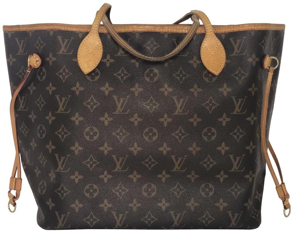 d7ed2d4de467 Louis Vuitton Lv Neverfull Neverfull Mm Monogram Shoulder Tote in Brown  Image 0 ...