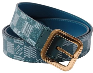 36e338122b99 Blue Louis Vuitton Belts - Up to 70% off at Tradesy