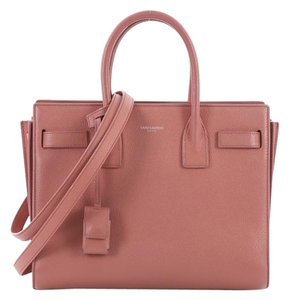 Saint Laurent Handbag Leather Tote in pink