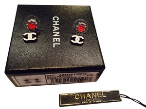 Chanel Chanel Ladybug Earrings