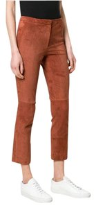Theory Skinny Pants brown russet