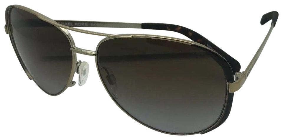 e76d6cee0f4a5 Michael Kors Polarized MICHAEL KORS Sunglasses CHELSEA MK 5004 1014T5 Gold  Brown Image 0 ...