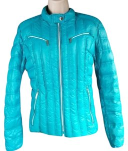 Laundry by Shelli Segal Down Puffer Lightweight Foldable Coat