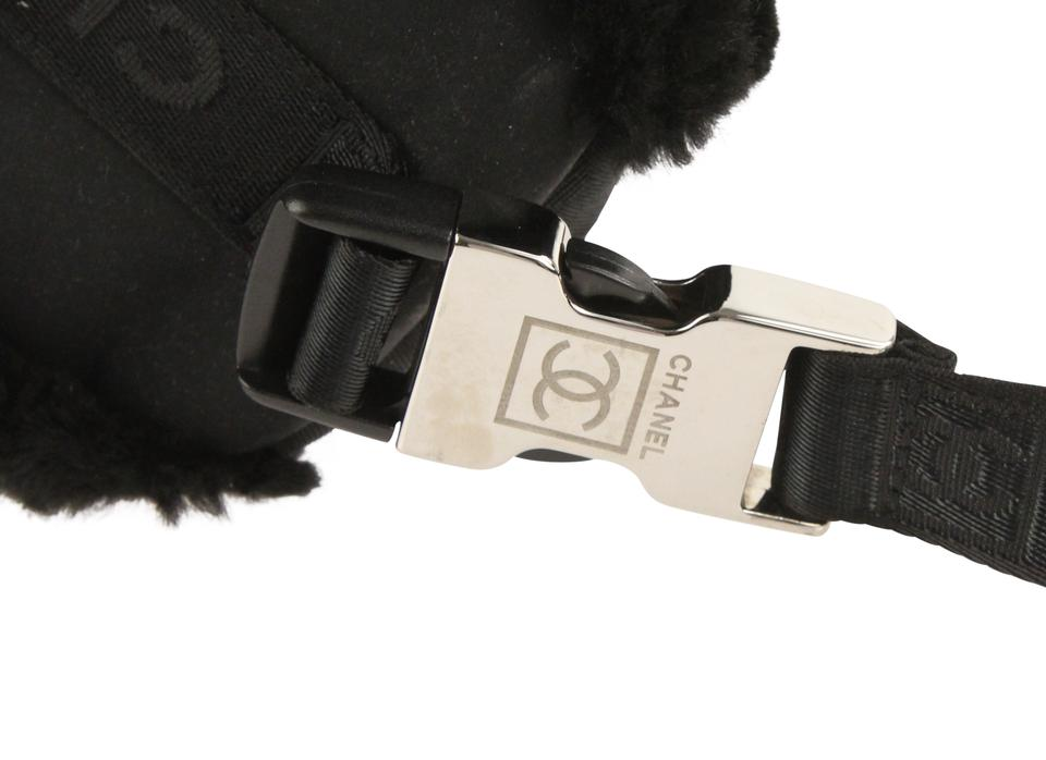bbfe25c198e2 Chanel Waist Belt Fanny Pack Fur Shoulder Bag Image 11. 123456789101112