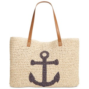 Style & Co Style&co Straw Summer Beige Beach Bag