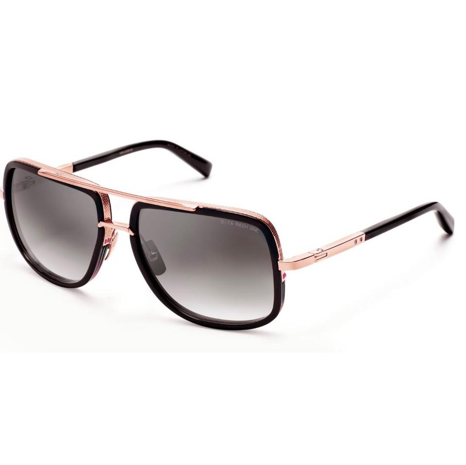 cb61dc7bb693 Dita New Men s Matte Black Rose Gold  mach One  Drx-2030 Large ...