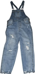 Almost Famous Clothing Distressed Deconstructed Destroyed Relaxed Fit Jeans-Distressed