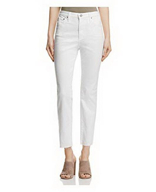 Item - White Isabelle High Rise Capri/Cropped Jeans Size 24 (0, XS)